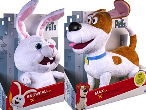 Secret Life of Pets, Max and Snowball, 12