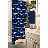 Dallas Cowboys Decorative Bath Collection Shower Curtain, 72 x 72