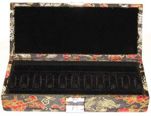 20-Reed Bassoon Reed Case Silk (Black/Gold)