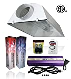 6 air cooled reflector hood - SPL Horticulture Stwk 1000 Hydroponic 1000w Watt Grow Light Digital Dimmable HPS Mh System for Plants 6 Inch Air Cooled Reflector Hood Kit