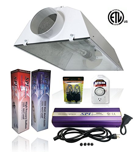 SPL Horticulture Stwk 1000 Hydroponic 1000w Watt Grow Light
