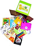 Preschool Kids Art Activity Learning Kit by M is for Monster | 3 Month Subscription, Each Includes All Craft Supplies and Curriculum for 16 Play Based Activities, Toddler Through Kindergarten, Level 2