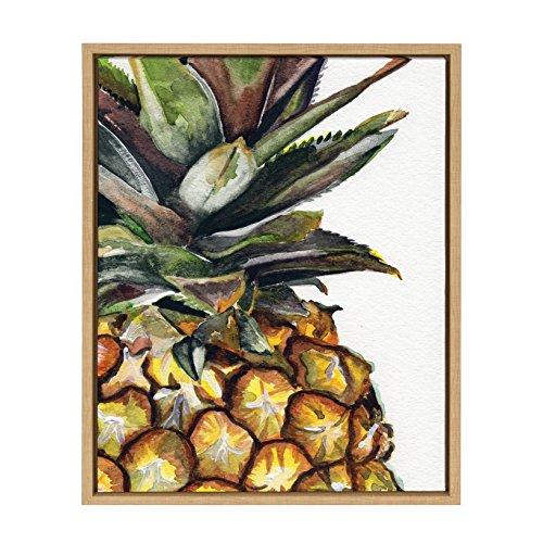 Kate and Laurel - Sylvie Watercolor Pineapple Portrait