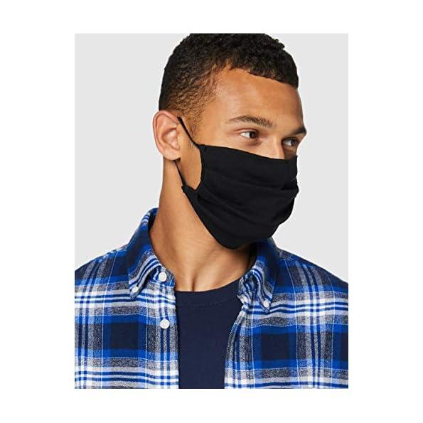 Oscar-Apparels-Wiederverwendbare-Stoffmaske-100-BCI-Baumwolle-mit-elastischer-Schlaufe-Erwachsene-10er-Pack