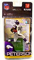 McFarlane Toys NFL Sports Picks Exclusive NFL Elite Series 1 Action Figure Adrian Peterson (Minnesota Vikings)
