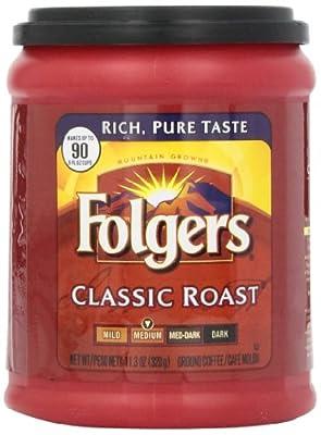 Folgers Classic Roast, 11.3 oz