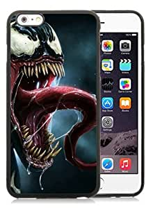 High Quality iPhone 6 Plus 5.5 Inch TPU Case ,Cool And Fantastic Designed Case With Spider man 63 Black iPhone 6 Plus Cover