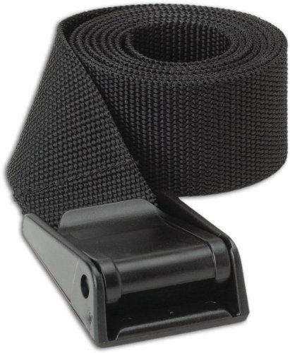 Caddis 1.5-Inch Black Nylon Wader Belt, Outdoor Stuffs