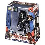 """Jada Toys Metals Figura de Acción Black Panther, 4"""""""