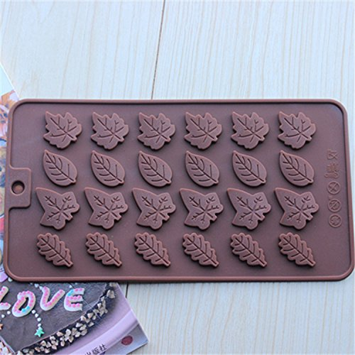 Ayutthaya shop Christmas cards / Rose Leaves silicone mold / DIY instruments chocolate / cookies mold / mold cake fondant.