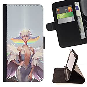 Momo Phone Case / Flip Funda de Cuero Case Cover - Sexy Cartoon Pixie;;;;;;;; - HTC One M8