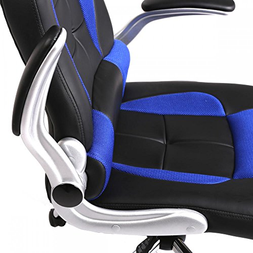 new high back racing car style bucket seat office desk chair import it all. Black Bedroom Furniture Sets. Home Design Ideas