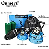 Oumers Beginner Slackline Kit, Slack Line Gift