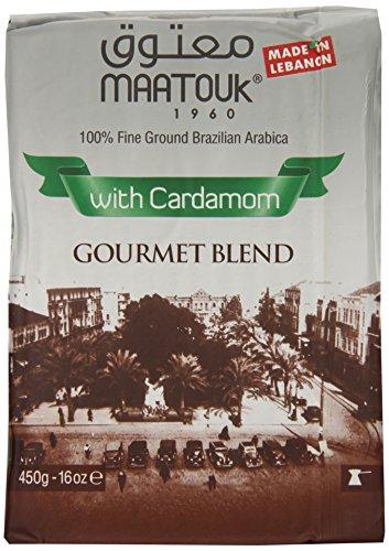 Maatouk Lebanese Coffee with Cardamon Bon viveur Blend,  16 Ounce
