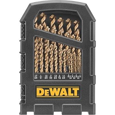 "Dewalt DW1269 29 Piece Cobalt Pilot Point Drill Bit with Set Up to 1/2"","