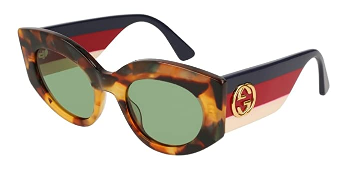 cee69ba4b5a Gucci GG0275S LIGHT HAVANA GREEN women Sunglasses  Amazon.co.uk  Clothing