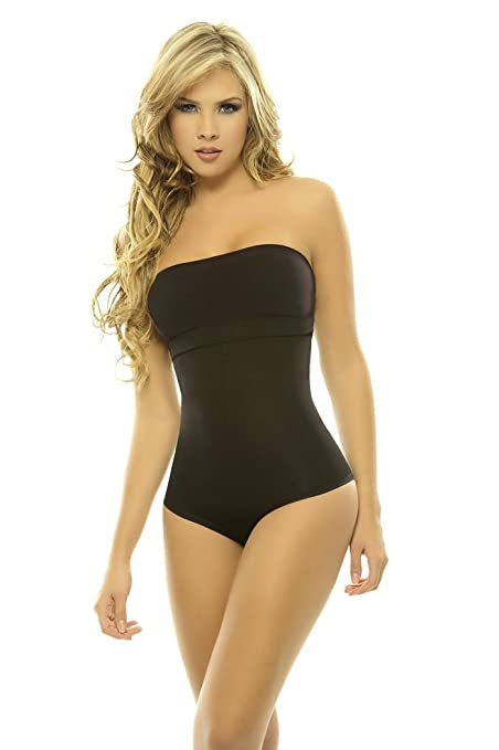 3e35c669d30f6 Amazon.com  Women s Shapewear Lycra-Nylon Body Braless Strapless Panty Type  Corset Waist…  Beauty