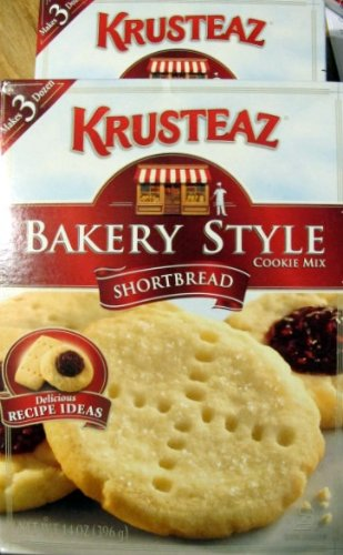 Cookie Mix Krusteaz (2 Boxes---Krusteaz Shortbread Bakery Style Cookie Mix)