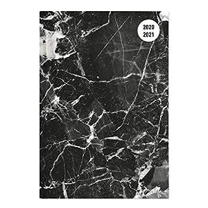 Alpha Edition Diario Agenda Scuola Collegetimer 2020/2021, Giornaliera, Formato 15x21 cm, Marmo Nero, 352 pagine 4 spesavip