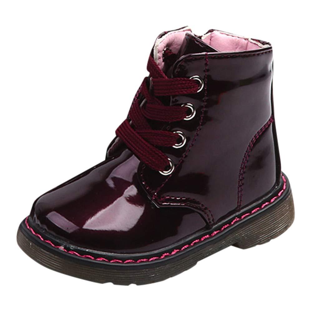 Sannysis Winter Warm Schuhe Baby Kinder Jungen M?dchen Warme Stiefel Sneaker Gefü tterte Winterstiefel Boots Freizeitschuhe