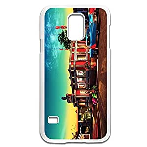 Samsung Galaxy S5 Cases Vintage Design Hard Back Cover Proctector Desgined By RRG2G by supermalls