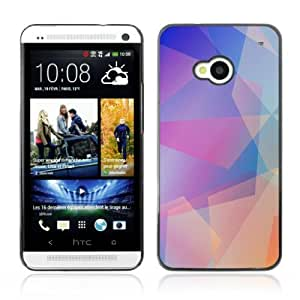 YOYOSHOP [Cool Abstract Pastel Pattern] HTC One M7 Case