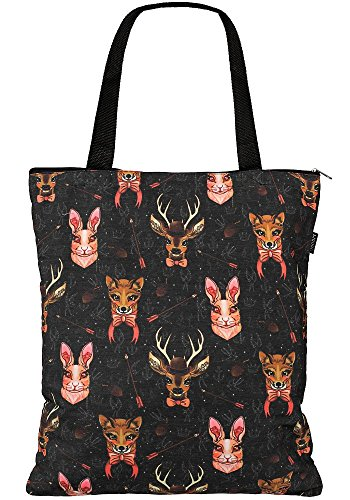 Liquor Brand Stofftasche Forest Animals TB-045