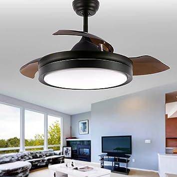 Bella Depot Ventiladores de techo contemporáneos con luz y mando a ...