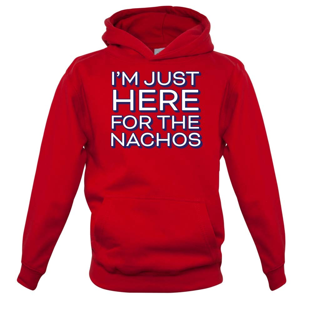 9 Colours Kids Hoodie 1-13 Years Dressdown Here for The Nachos