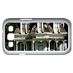 Mini Mansion (Houses Series) Watercolor style - Case Cover For Samsung Galaxy S3 i9300 (White)
