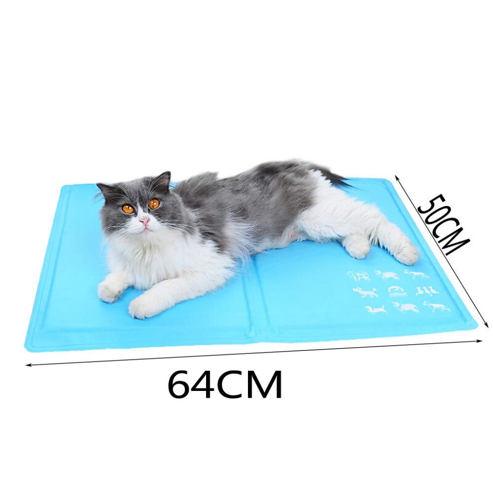 XULO Gato Mascota Gato Cool Mat Gel De Enfriamiento Automático Colchoneta Colchón De Cama Alivio De Calor No Tóxico Elección Inteligente De No Más De ...
