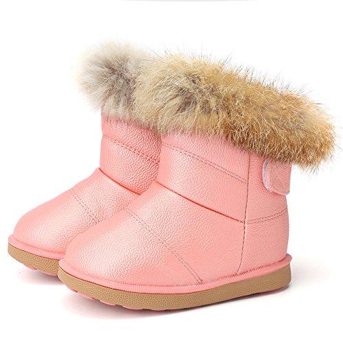 超级可爱的女童雪地靴只要$14!