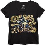 Ripple Junction Doctor Who Van Gogh Pandorica Women's Plus T-Shirt Large Plus Black