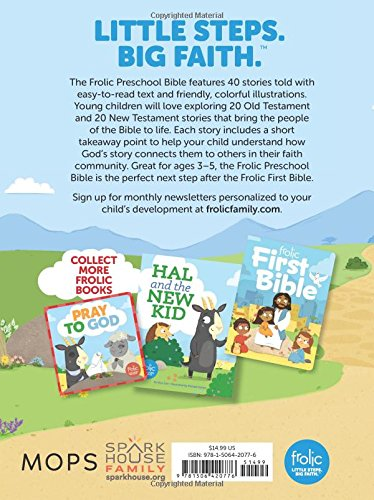 Frolic Preschool Bible (Frolic First Faith)