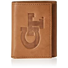 NCAA Georgia Tech Yellow Jackets Embossed Genuine Leather Trifold Wallet