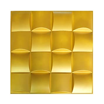 Amazon.com: Plastic 3d Wall Panels Home Decorative Waterproof Pvc ...