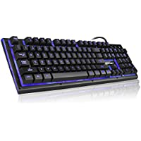 Ergonomic Adjustable Illuminated Anti Ghosting Computer Keyboard Advantages