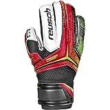Reusch Soccer Receptor RG Finger Support Junior Goalkeeper Glove, 6, Pair