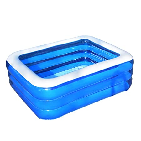 FLY FLAP Piscina Rectangular Family Pool,Piscina Mediana-Swimming ...