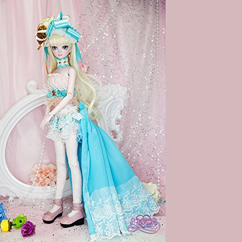 Isabella BJD Dolls 1/4 SD Doll 45cm 18'' Jointed Dolls Toy Gift for Girl by EVA BJD (Image #6)