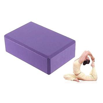Yoga Pilates Block Ladrillo De Espuma EVA, Ejercicio Fitness ...