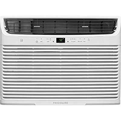 Frigidaire 18,000 Btu 230V Window-Mounted Median with Temperature Sensing Remote Control Air Conditioner, White