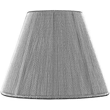Clip On Empire Silver Lamp Shade Amazon Com