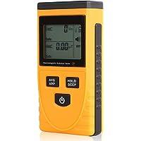 Khaco Medidor EMF Detector EMF Testador de radiação eletromagnética 5Hz — 3500 MHz com LCD de alarme de luz sonora para…