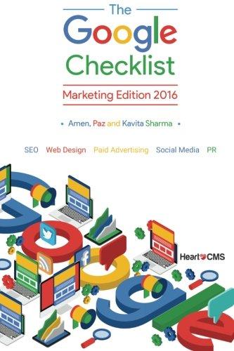 The-Google-Checklist-Marketing-Edition-2016-SEO-Web-Design-Paid-Advertising-Social-Media-PR
