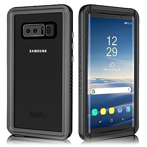 Samsung Galaxy Note 8 Waterproof Case, Temdan UNIQUE Series Shockproof Waterproof Rugged Case with Kickstand Built in Screen Protector Waterproof Case for Samsung Galaxy Note 8 (2017) (Pro - Series Note
