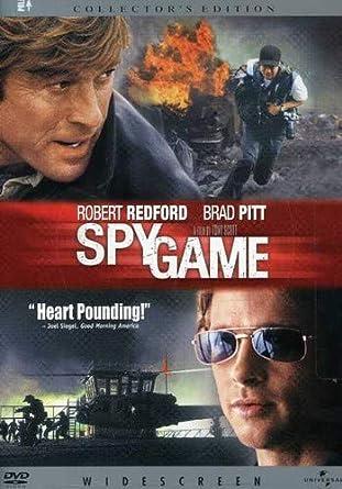 Amazon Com Spy Game Widescreen Edition Robert Redford Brad Pitt Catherine Mccormack Tony Scott Douglas Wick Marc Abraham Michael Frost Beckner David Arata Movies Tv