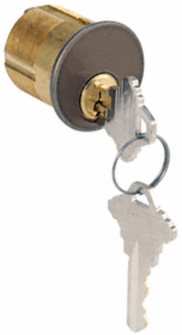 CRL Dark Bronze Single Mortise Key Cylinder DC7205SCKADU