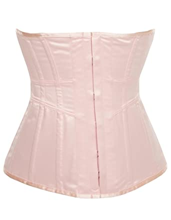 8e802786f0 Vollers Nicole Baby Pink Long Waspie V1891 at Amazon Women s ...