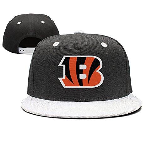Grymkyi Unisex Cincinnati_Bengals_Primary_Logo Flat Bill Snapback Trucker Baseball Cap